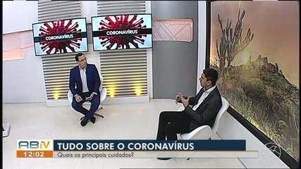 Médico explica quais os cuidados com o novo coronavírus