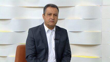 Governador Rui Costa fala sobre medidas adotadas para conter o avanço do Covid-19 na Bahia