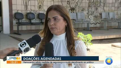 Hemocentro adota medidas de segurança e muda atendimento ao público na Paraíba