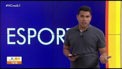 Confira os destaques do esporte no JL1 desta quinta-feira, dia 19