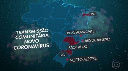 Aumenta o número de mortos pela Covid-19 no Brasil