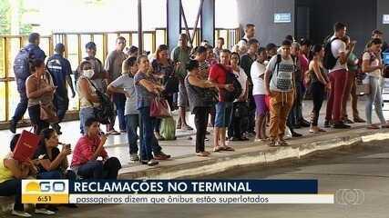 CMTC reduz frota de ônibus por diminuição da demanda por causa do coronavírus em Goiânia
