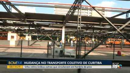 Tem mudança no transporte coletivo de Curitiba