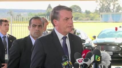 Após acusações do filho Eduardo, Jair Bolsonaro afirma que não há problemas com a China