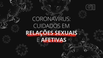 Coronavírus: cuidados em relações sexuais e afetivas