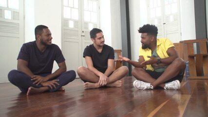 Atores Dan Ferreira e Danilo Mesquita falam sobre o curta Sobre Nossas Cabeças