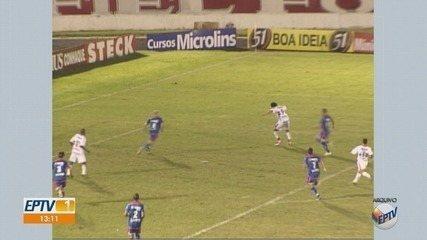 GloboEsporte.com e EPTV relembram 10 anos de conquista do Botafogo-SP