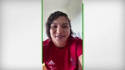 Sarah Menezes, do judô, fala sobre o adiamento dos Jogos Olímpicos