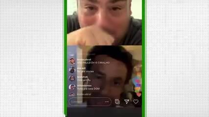 Em live, Fred diz que vai voltar ao Fluminense