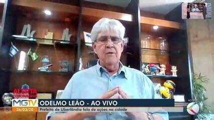 Prefeito de Uberlândia fala sobre medidas tomadas contra o coronavírus