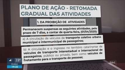 Governador Carlos Moisés anuncia plano para retomada da economia