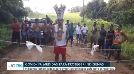 Corrente proíbe acesso à aldeia no interior do Acre para proteger indígenas de Covid-19