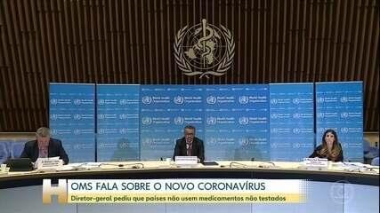 OMS diz que desenvolvimento de vacina contra coronavírus deve demorar mais de 18 meses