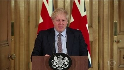 Premiê britânico, Boris Johnson, anuncia que tem coronavírus