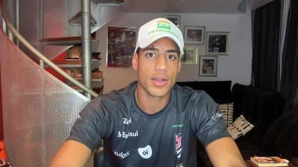 Almir Junior, do salto triplo, explica que é importante saber logo a data da Olimpíada