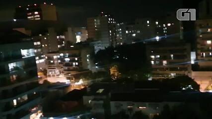 Bairros no Rio registram mais uma noite de panelaço