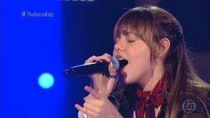 Melhores Momentos Audições ás Cegas: Giovana Aguilera canta 'Believer'
