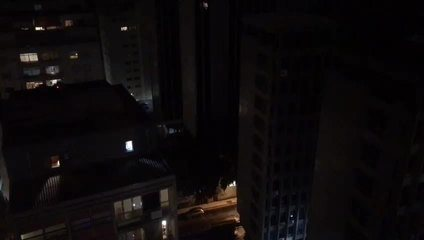Panelaço contra o presidente Jair Bolsonaro no Itaim Bibi, na Zona Sul de São Paulo