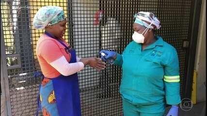 África tem 136 mortes e mais de 4 mil infectados pelo coronavírus