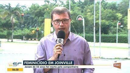Jovem de 23 é morta pelo companheiro em Joinville