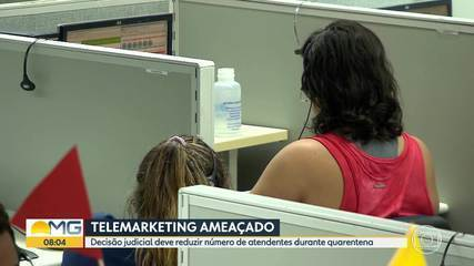 Coronavírus: decisão altera regras trabalhistas para empresas de telemarketing em Minas