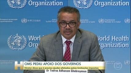 Bolsonaro cita discurso de diretor da OMS e omite trecho sobre assistência