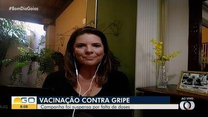 Goiás deve receber novas doses de vacina contra gripe