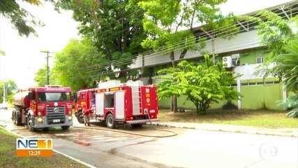 Incêndio atinge Centro de Informática da UFPE