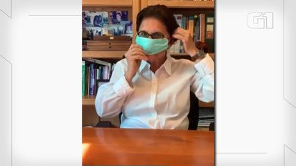 Dra. Ana Escobar ensina a fazer máscara caseira de proteção contra o coronavírus