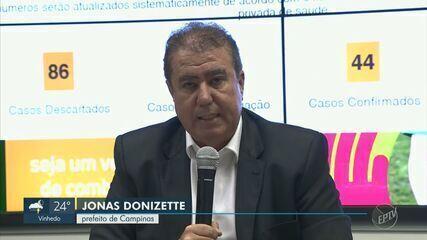 Campinas tem 3º óbito, prefeito reconhece subnotificação e estipula regras de velório