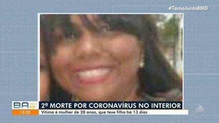 Segunda morte por coronavírus registrada no interior da Bahia é uma mulher de 28 anos