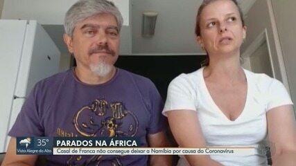Casal de Franca não consegue deixar a Namíbia por conta do novo coronavírus