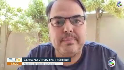 Morador de Resende diagnosticado com Covid-19 fala sobre como enfrenta doença