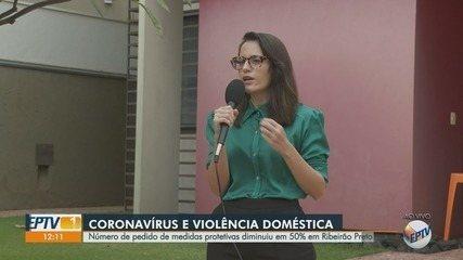 Pedidos de medidas protetivas caem 50% em Ribeirão Preto durante pandemia