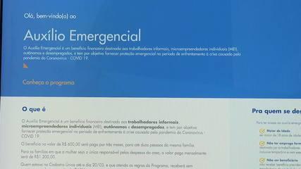 Especialista tira dúvidas sobre o pagamento de auxílio emergencial