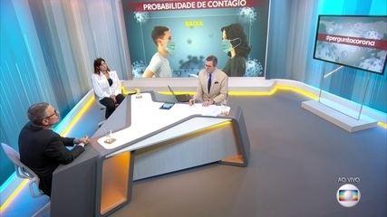 Médico comenta importância do uso da máscara caseira no combate ao coronavírus