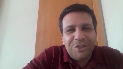 O narrador Daniel Pereira relembra a partida e conta estar ansioso para a nova transmissão