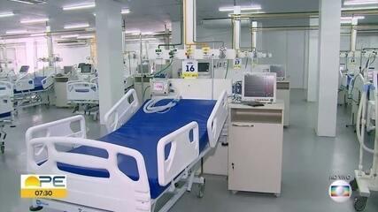 Recife monta hospital provisório com 160 leitos para pacientes com Covid-19