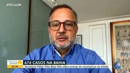 Secretário de Saúde do Estado fala sobre sobre aumento dos casos do coronavírus na Bahia