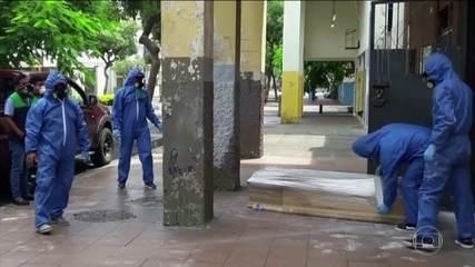 Coronavírus: Equador recolhe 700 corpos de pessoas que morreram em casa
