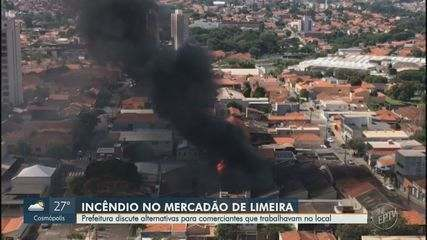 Prefeitura estuda reconstruir Mercado Municipal de Limeira ou realocar comerciantes