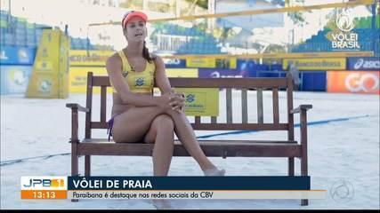 Andressa Cavalcanti relembra seu início no vôlei de praia