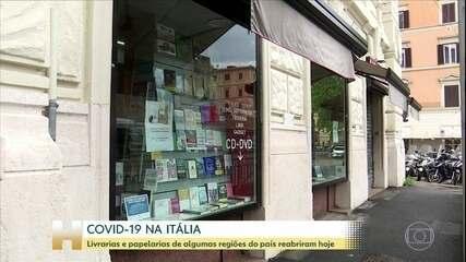 Itália reabre livrarias e papelarias em quase todo o país