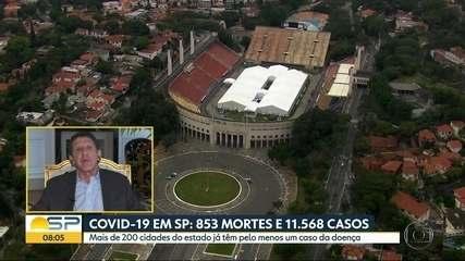 Governo de SP estuda ampliação da quarentena; anuncio deve ser feito nesta sexta-feira