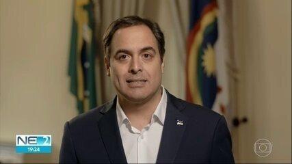 Governo de Pernambuco prorroga fechamento de comércio, serviços e obras não essenciais