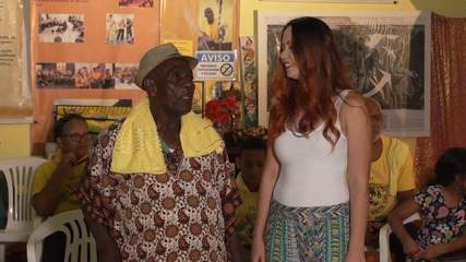 Mestre Curió preserva a tradição e a cultura da capoeira de angola