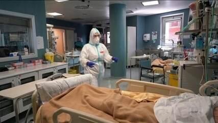 Itália registra menor número de mortos por coronavírus em um dia