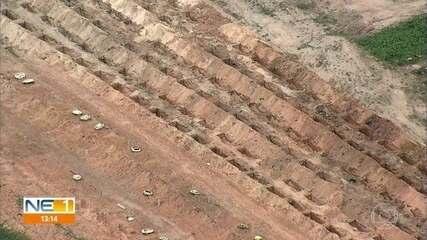 Cemitérios se preparam para receber corpos de mortos por Covid-19