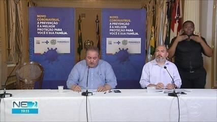 Pernambuco tem 260 mortos por Covid-19 e 2.908 casos confirmados de coronavírus