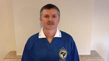 Márcio fala sobre o título Mundial de Futsal do Brasil em 1996